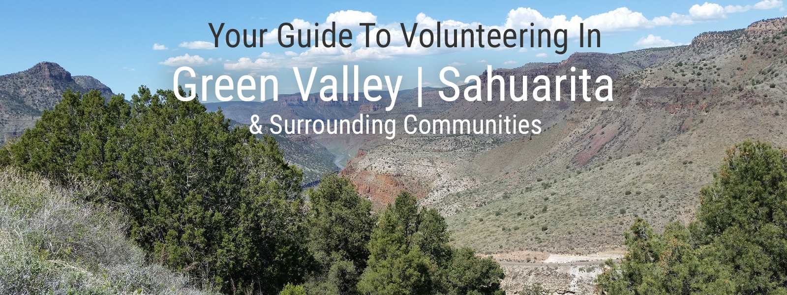 Green Valley | Sahuarita Volunteer Clearinghouse